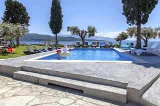 agni studios in lefkada with pool