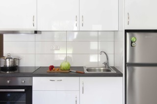 apartment 2 agni studios kitchenette