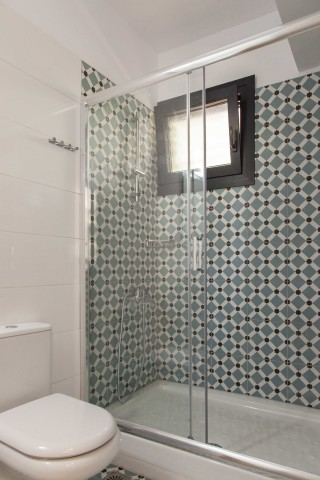 apartment 2 agni studios shower