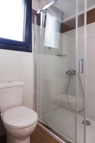 apartment 4 agni studios shower