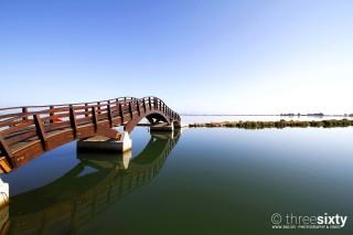 lefkada agni studios town bridge