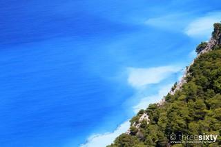 lefkada agni studios vegetation and the sea